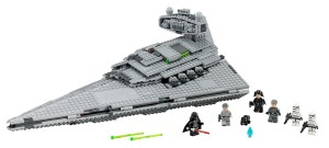 Lego Star Wars 75055 - Imperial Star Destroyer_FrontmitSoldaten