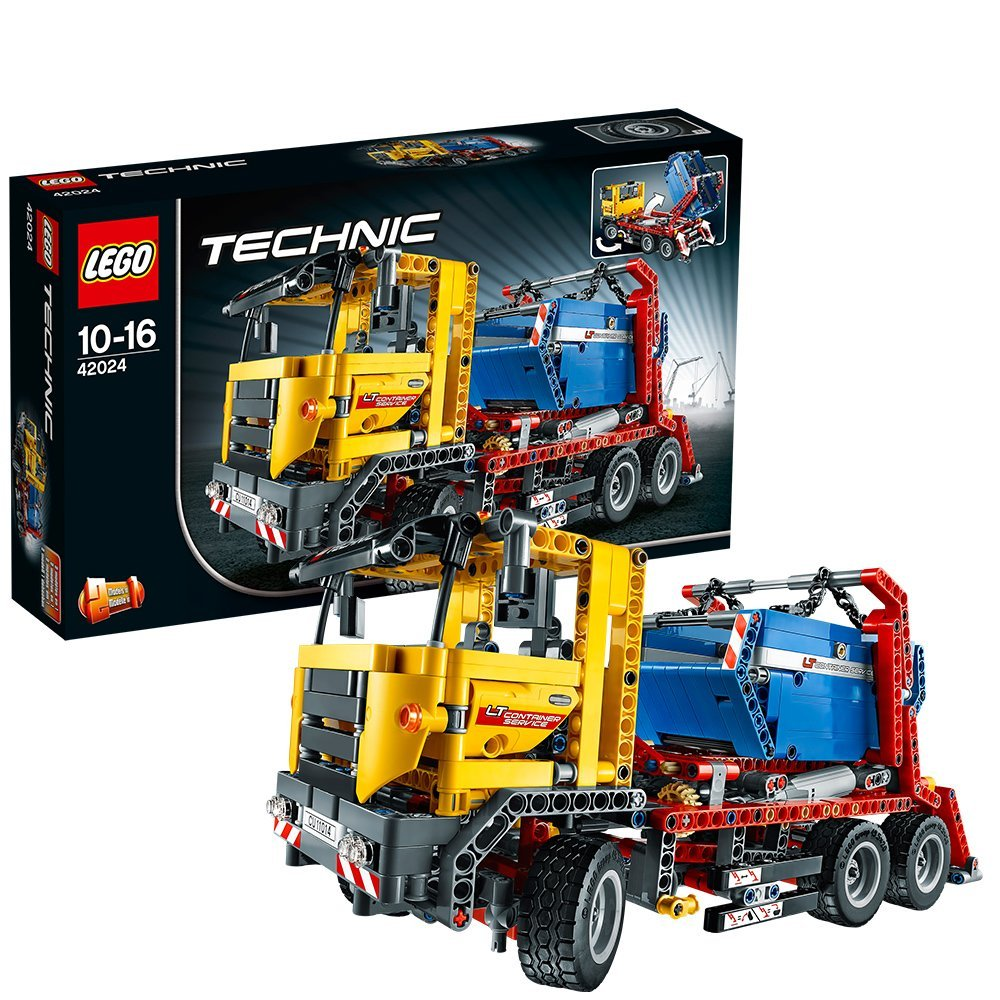 lego technic 42024 container truck technik spielzeug. Black Bedroom Furniture Sets. Home Design Ideas