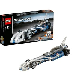 Lego Technic 42033 – Action Raketenauto