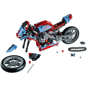 lego technic 42036 stra enmotorrad technik spielzeug. Black Bedroom Furniture Sets. Home Design Ideas