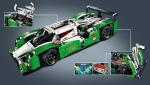Lego Technic 42039 - Langstrecken - Rennwagen_Funktionen