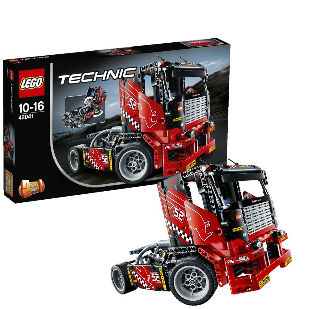 lego technic 42041 race truck technik spielzeug. Black Bedroom Furniture Sets. Home Design Ideas